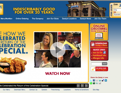 Zaxby's Celebration Special –  Landing Page