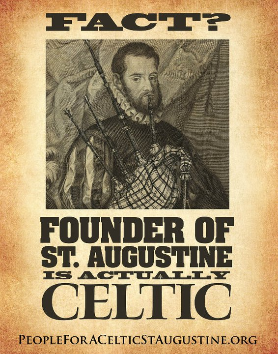 St. Augustine St. Patrick's Day – Propoganda Poster