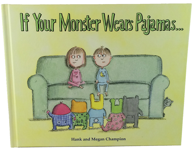 """If Your Monster Wears Pajamas Book"" – Picture Book"