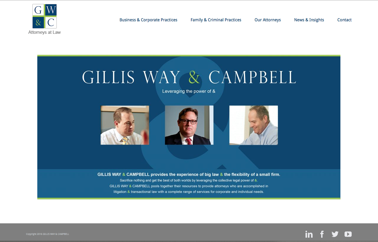 Gillis Way & Campbell Law Firm